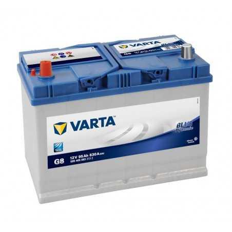 BATTERIE VARTA BLUE DYNAMIC G8 12V 95AH 830A +G