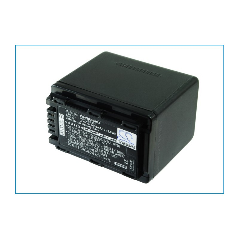 Batterie Panasonic VW-VBK360