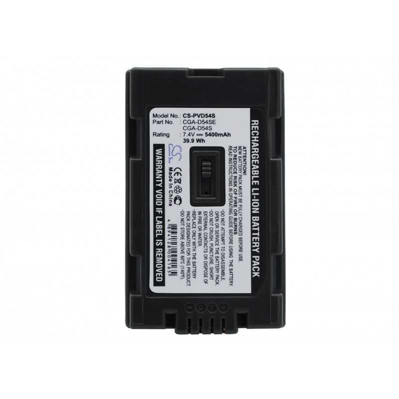 Batterie Panasonic CGA-D54