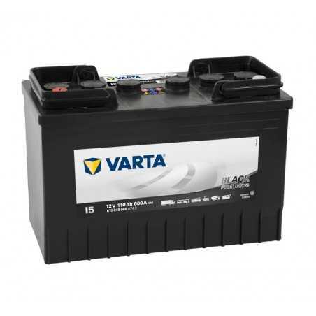 BATTERIE VARTA PROMOTIVE BLACK I5 12V 110AH 680A(EN) +G
