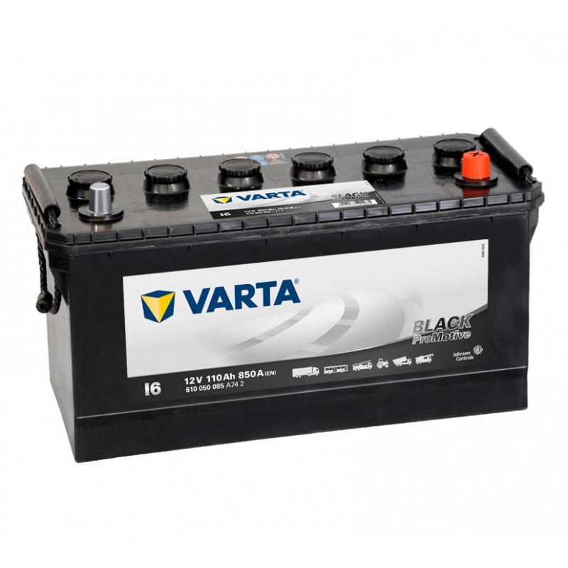 BATTERIE VARTA PROMOTIVE BLACK I6 12V 110AH 850A