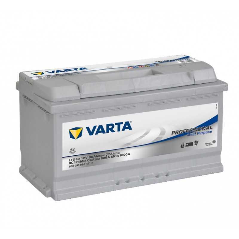 BATTERIE VARTA DECHARGE LENTE 12V 90AH / C20
