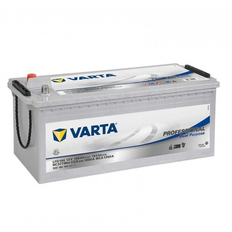BATTERIE VARTA DECHARGE LENTE 12V 180AH / C20