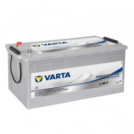BATTERIE VARTA DECHARGE LENTE 12V 230AH / C20