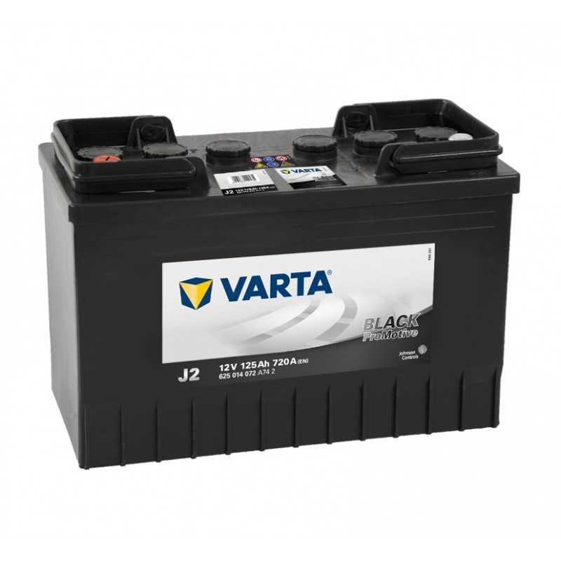 BATTERIE VARTA PROMOTIVE J2 12V 125AH 720A(EN) +G