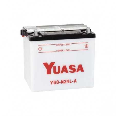 BATTERIE MOTO YUASA Y60-N24L-A