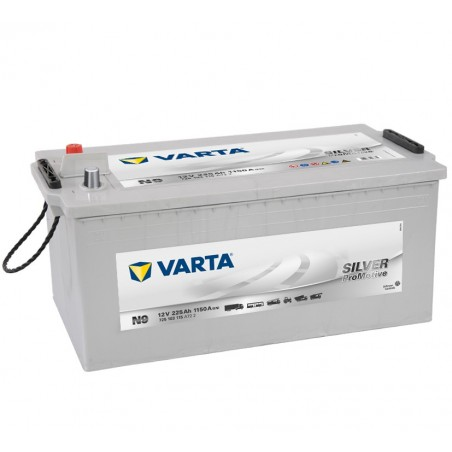 BATTERIE VARTA PROMOTIVE SILVER N9 12V 225AH 1150A(EN)