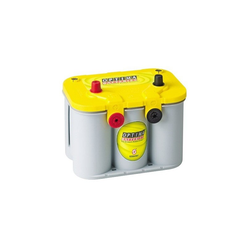 BATTERIE OPTIMA YELLOWTOP 12V 55AH 765A / 120min