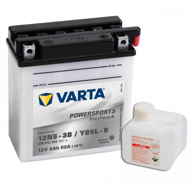 BATTERIE VARTA FUNSTART YB5LB