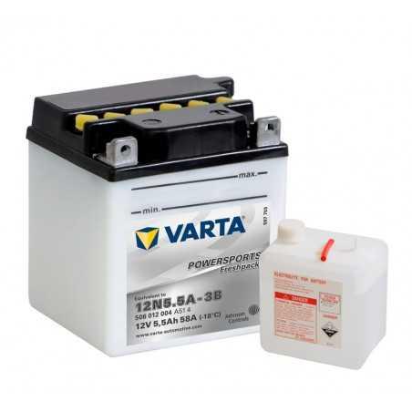 BATTERIE VARTA FUNSTART FP 12N5.5A-3B