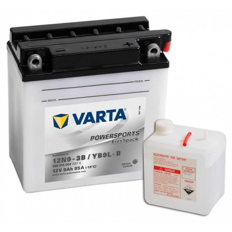 BATTERIE VARTA FUNSTART FP YB9L-B / 12N9-3B