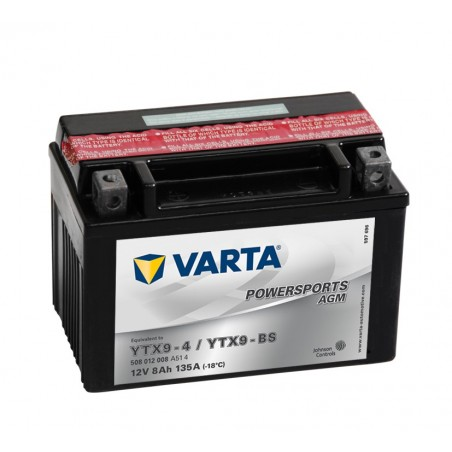 BATTERIE VARTA FUNSTART AGM YTX9BS