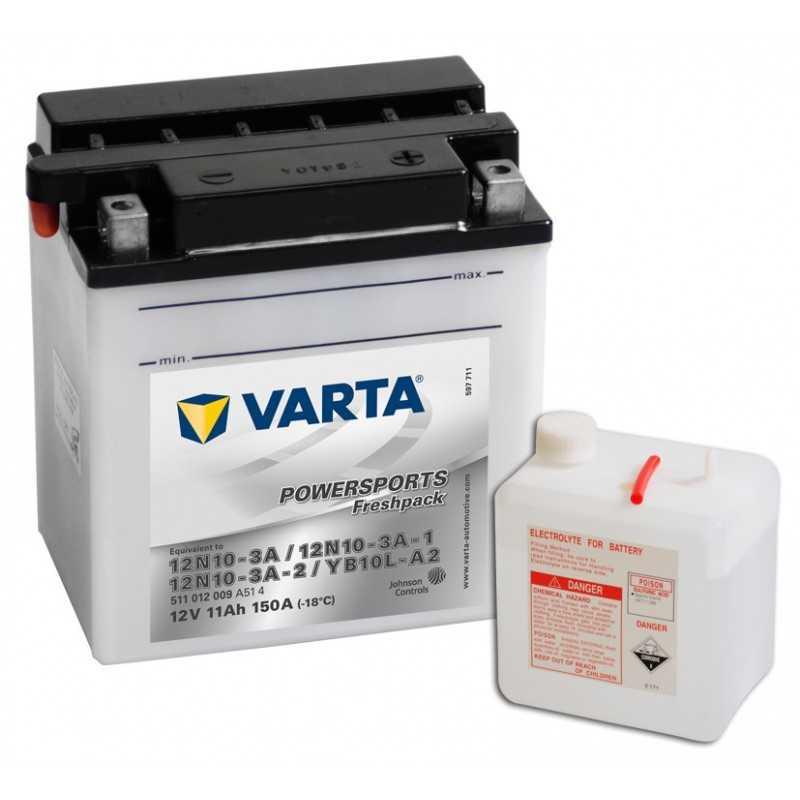 BATTERIE VARTA FUNSTART YB10L-A2