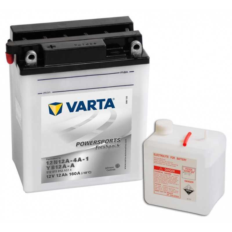 BATTERIE VARTA FUNSTART YB12A-A