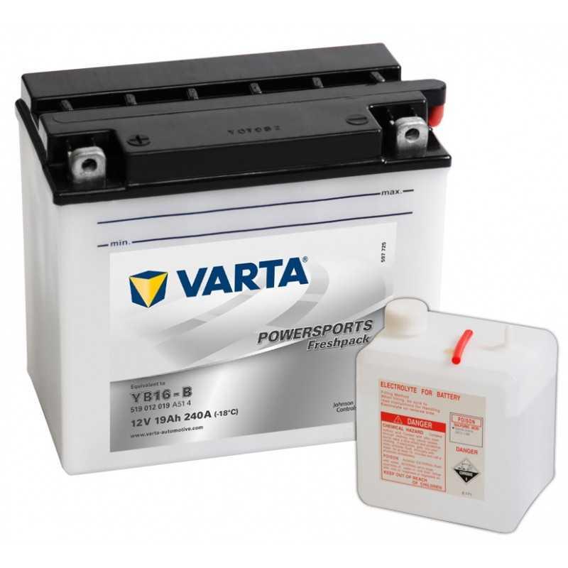 BATTERIE VARTA FUNSTART FP YB16-B