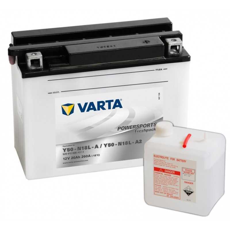 BATTERIE VARTA FUNSTART Y50-N18L-A/A2