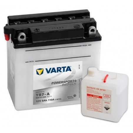 BATTERIE VARTA FUNSTART YB7-A