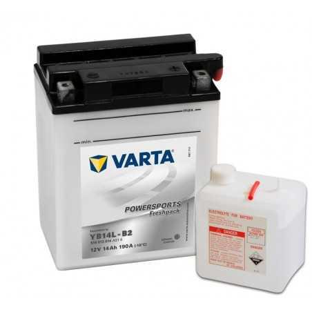 BATTERIE VARTA FUNSTART YB14L-B2