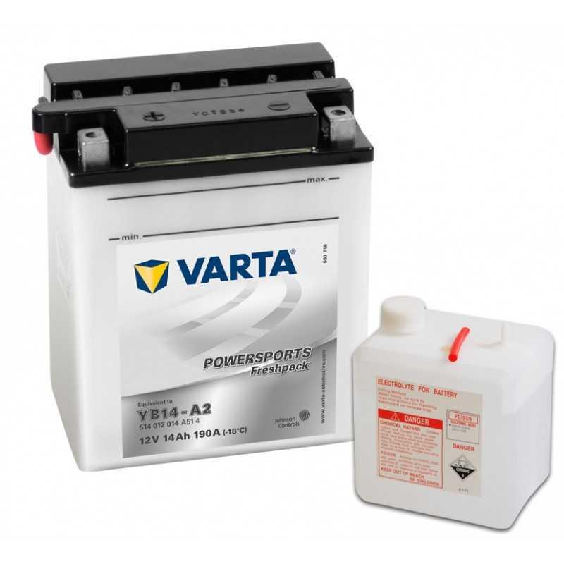 BATTERIE VARTA FUNSTART YB14-A2