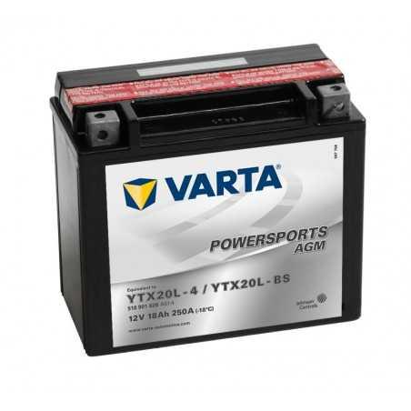 BATTERIE VARTA FUN START AGM YTX20L-BS +D
