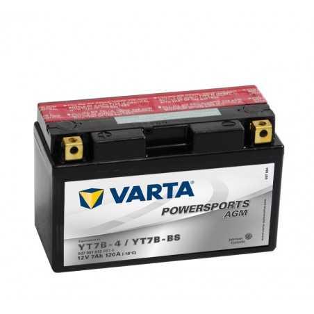 BATTERIE VARTA FUNSTART AGM YT7B-BS / YT7B4