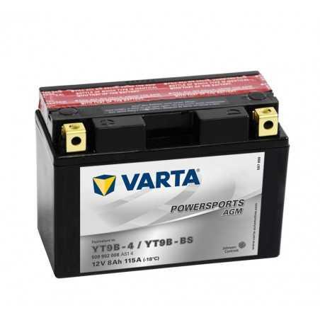 BATTERIE VARTA FUNSTART YT9B4 / YT9B-BS