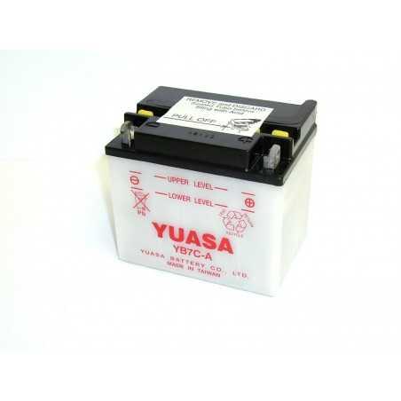 BATTERIE MOTO YUASA YB7C-A