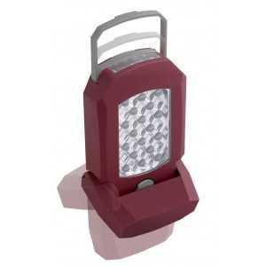 LAMPE 18 + 4 LEDS A ACCU LI ION 3.6V KRAFTWERK
