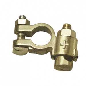 25 cosses batterie double serrage VL (+) - Pour câble 10 mm-35mm²