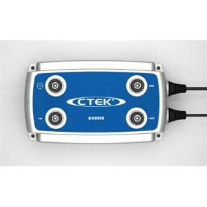 COUPLEUR/SEPARATEUR CTEK D250TS - 2 ENTREES 24 VOLTS / 10 A