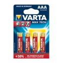 BLISTER VARTA MAX-TECH LR03 AAA x 4