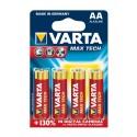 BLISTER VARTA MAX-TECH LR06 AA x 4